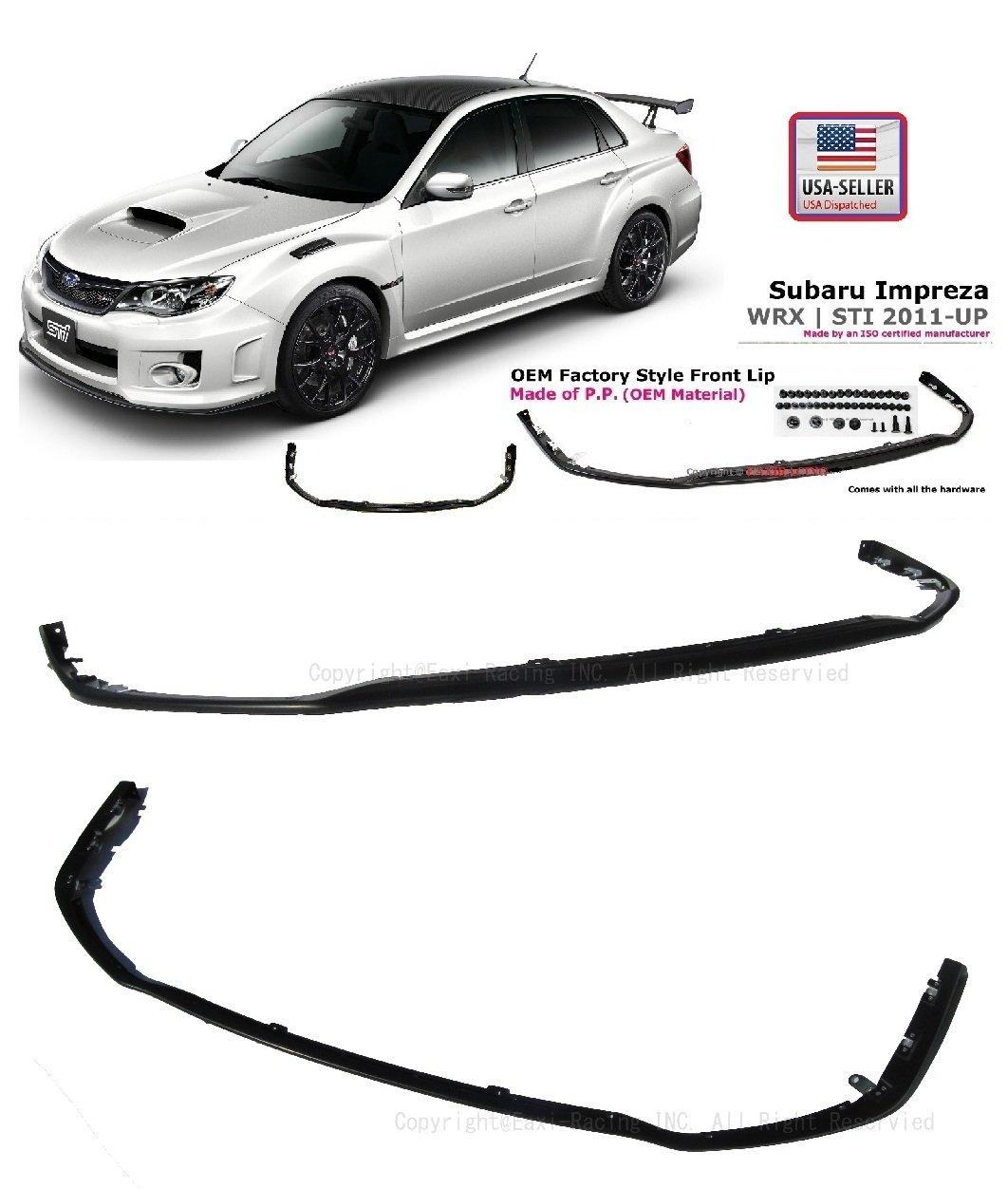 2011-2012 Subaru Impreza WRX STI V-limited Front Bumper JDM P.p. Lip Spoiler