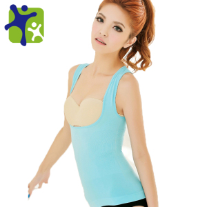 Women perfectly shaped breast slimming vest NY010