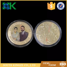 Professional Creative Lovers Wedding Anniversary Personalized Coins for Memory
