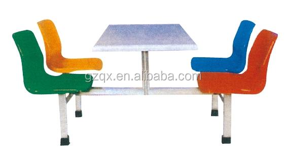 Cuatro Asientos Secundaria Universidad Comedor Mesa/mesa Plegable ...