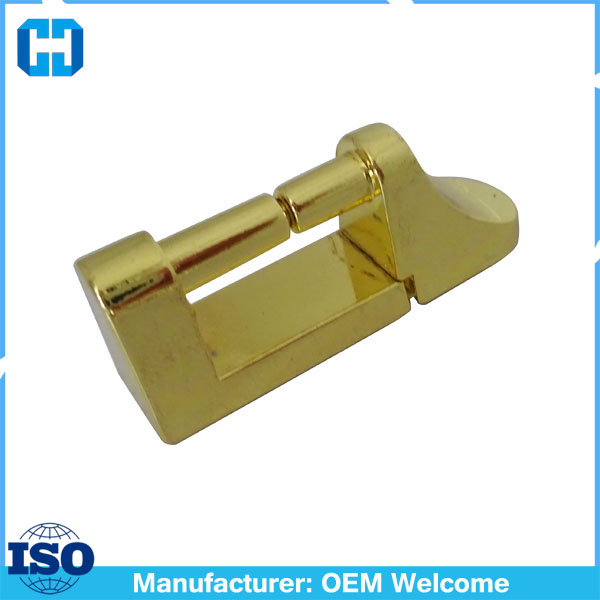 Gold Metal Opening Hardware Bridge Bag Luggage Handle