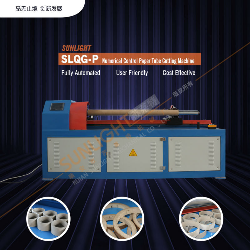Cutting Machine Processing Type And Ce Certification Tissue Paper Tube Core Pipe Maker Machine