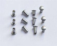 tubular rivets DIN7339 copper and carbon steel