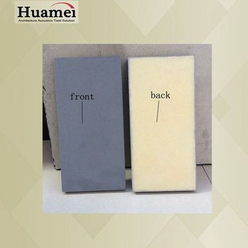 Light Weight 15mm Thickness Standard Sizes Acoustic Board Ceiling Tiles Wall Panel For Tv Radio