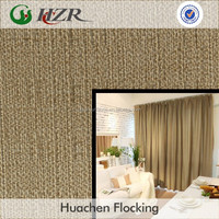 100% Polyester Linen Look 280cm blackout fabric for Drapes