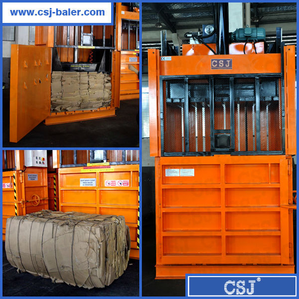 CE,ISO9001 certificate factory price more than 20 years experience waste paper baler compressor