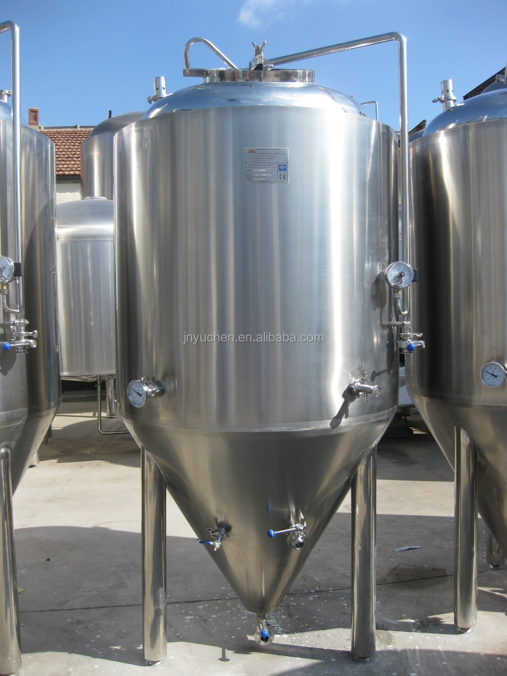 10bbl Jinan beer brewing equipment manufacturer/beer fermentation tank/beer brewery system in Shandong