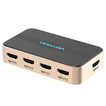 Tions <span class=keywords><strong>HDMI</strong></span> <span class=keywords><strong>Switch</strong></span> 5x1 Mit Digital Toslink Audio <span class=keywords><strong>HDMI</strong></span> Switcher 5 In 1 Heraus Mit RF Remote Unterstützung 4K 3D HDCP 2,2 Für HDTV <span class=keywords><strong>PS3</strong></span>