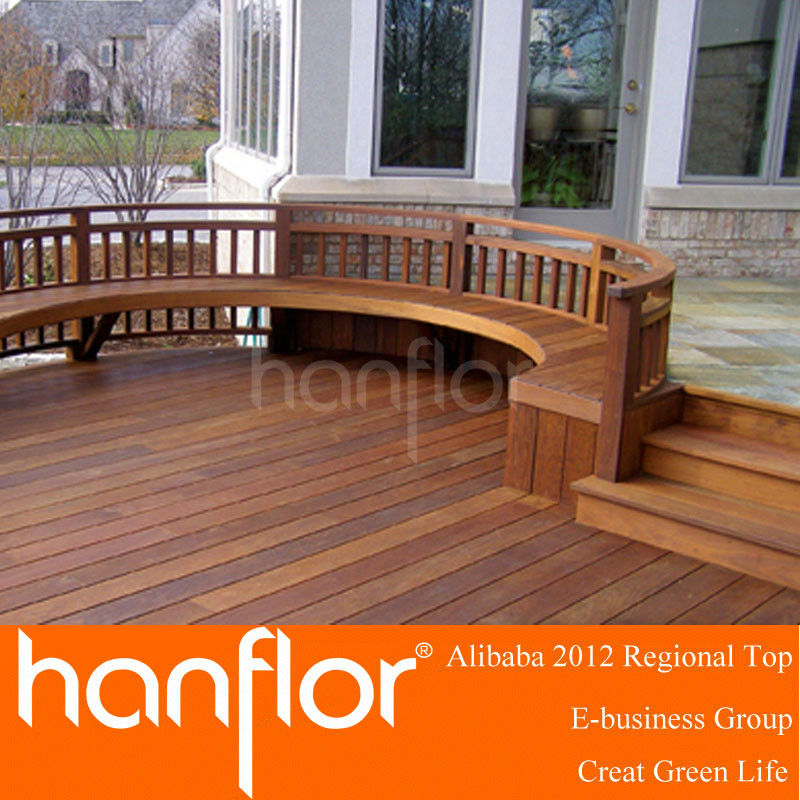 Leisure wood composite decking
