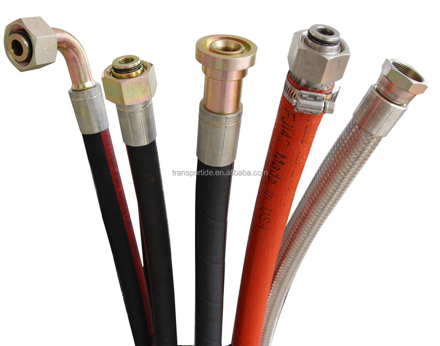 Flexible High Pressure Hydraulic Hose Pipe
