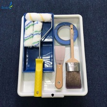 Wallpaper hand tools paint roller tray