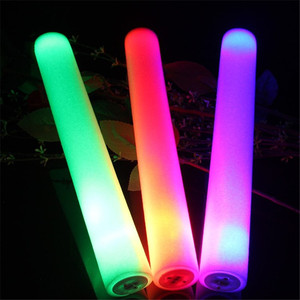 Logo Print Glow Sticks Personalized Foam LED Stick for Celebration