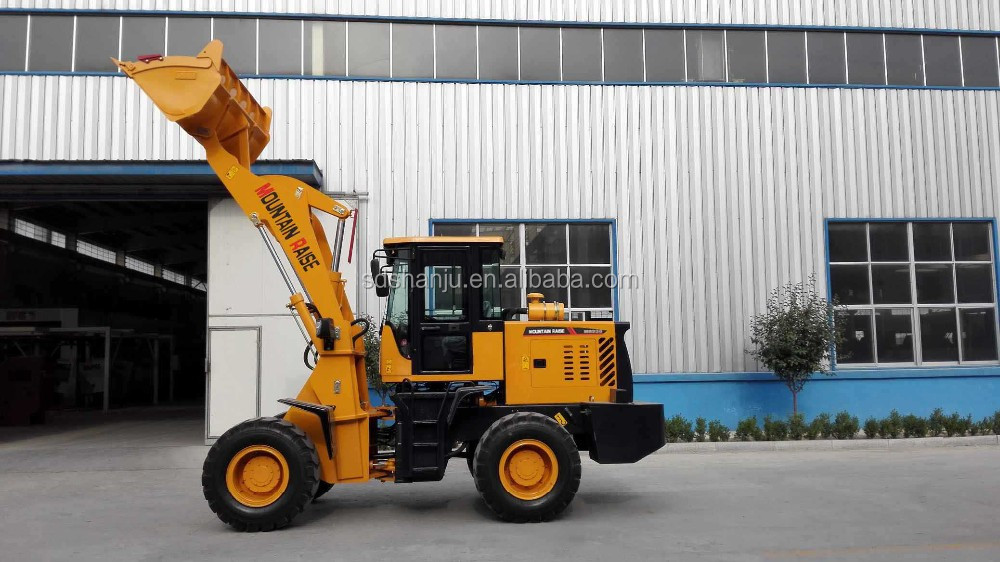 Articulated Mini Wheel Loader Mr930 Payloader With Lower