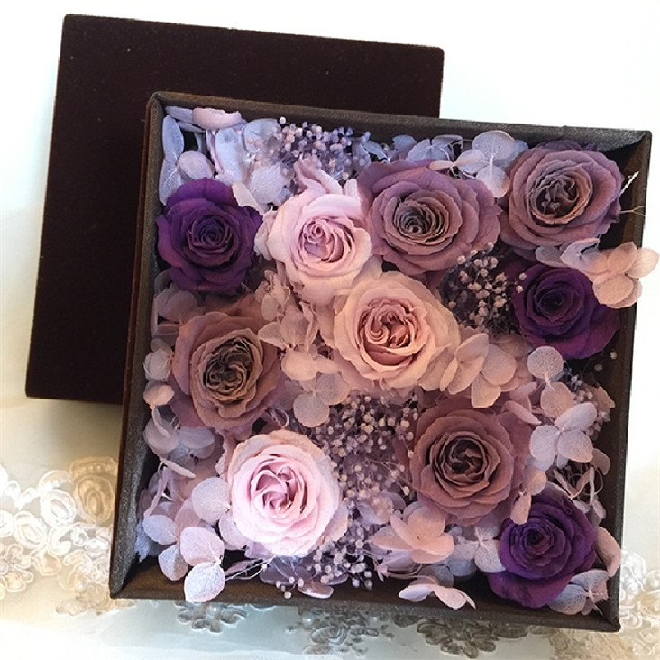 New product ideas Peony real preserved orchid