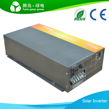 pure sine wave inverter 3000w solar panel dc 24v ac 220v. Black Bedroom Furniture Sets. Home Design Ideas