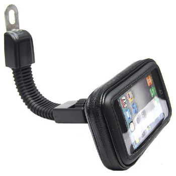 Bike Mobile Phone Waterproof Bag Flexible Motor Front Handle Pouch Bag Holder