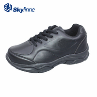top quality new design black school shoes for children table tennis shoes men children school shoes black