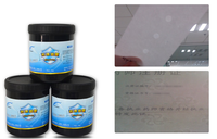 white watermark ink by screeen printing for paper