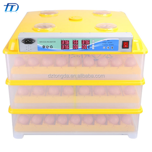Mini incubator holding 294 chicken eggs for animal baby incubators