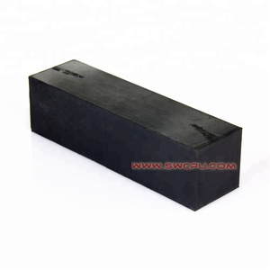 Mounting shock absorber solid silicone hard rubber block