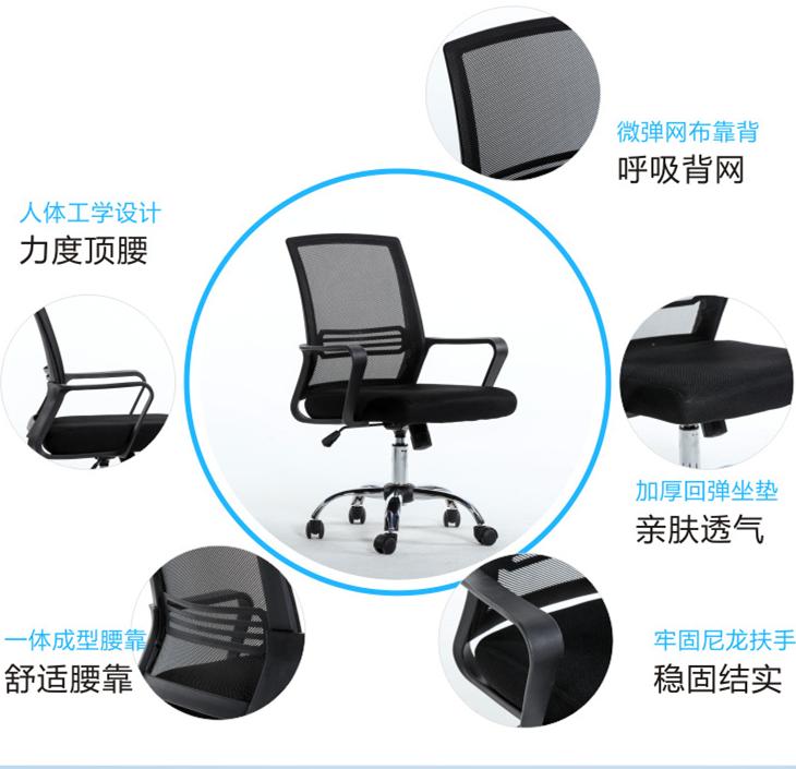 การประชุมราคาถูกจัดการประชุมสูง stackable ตาข่ายสำนักงานเก้าอี้