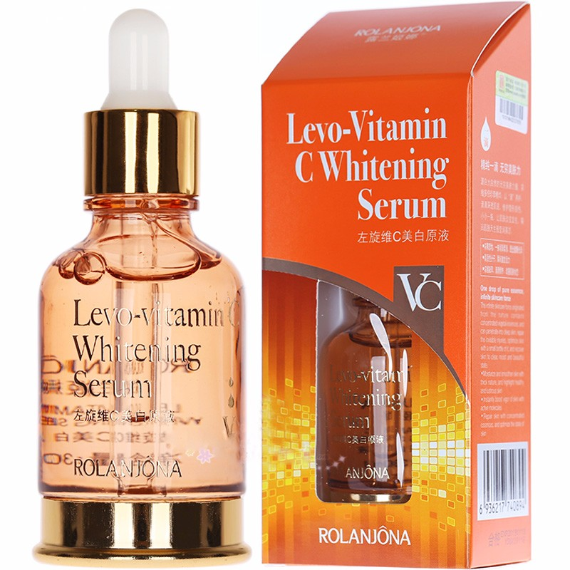 hot selling rolanjona snail whitening anti aging vitamin C face serum