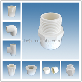 Nigeria Plastic Pvc Male Threaded Adapter Connection Pipe Fitting - Buy  Thread Pvc Fittings,Pvc Male Threaded Adapter,Plastic Pvc Pipe Fitting  Product