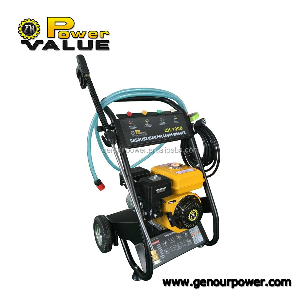 Genour Power high pressure washer water cleaning blaster Gurney Hose 1800PSI GX160