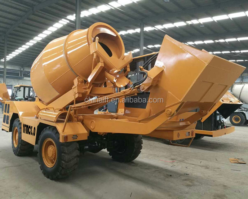 Mobile Concrete Mixing Machine 4x4 Drive Buy Mobile