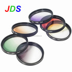 Optical glasses Square Gradual Filter lens For dslr camera accessories