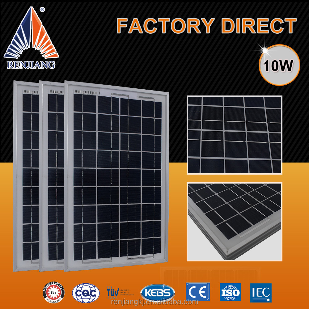 10W Solar Module Photovoltaic Solar For Roof Tile