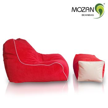 Original Pouf Bean Bag Floor Sofa Chair Home Furniture Relaxing Styrofoam Fill Cover