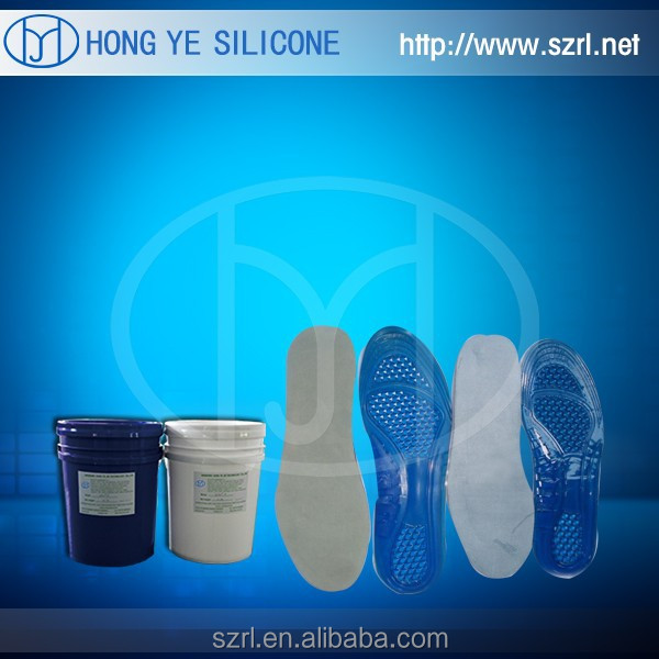 liquid Silicon Rubber for male shoe soles molding