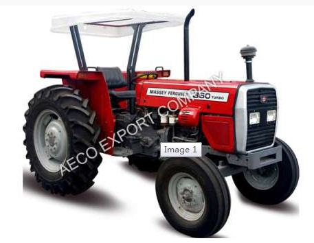Massey Ferguson 375 75 Hp Two Wheel Big Farm Tractor