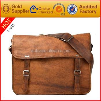 Famous Branded Men Leather Sling Bag European Shoulder Bag For Men ...