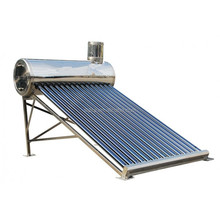 Preheated Solar Thermal Water, Heat Exchanger Solar Water Heater with Assistant Tank