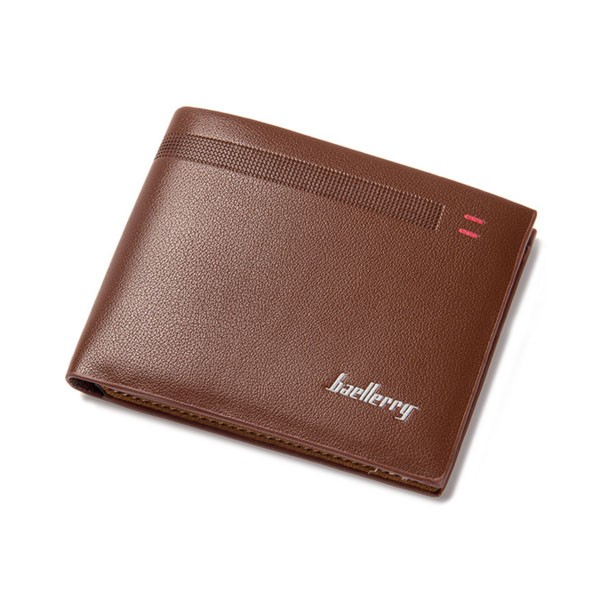 men's wallet baellerry slim business man 2 fold Male money purse