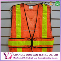 100% polyester safety vest net type fabric for safty wear