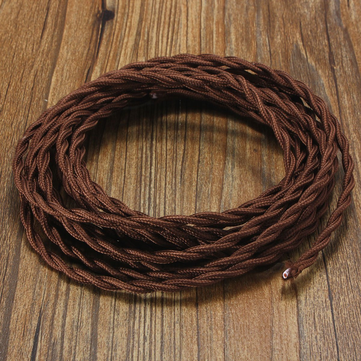 Get Quotations Vintage Electrical Wire Elfeland 32 8ft 18 2 Twisted Rayon Covered Electric Cord