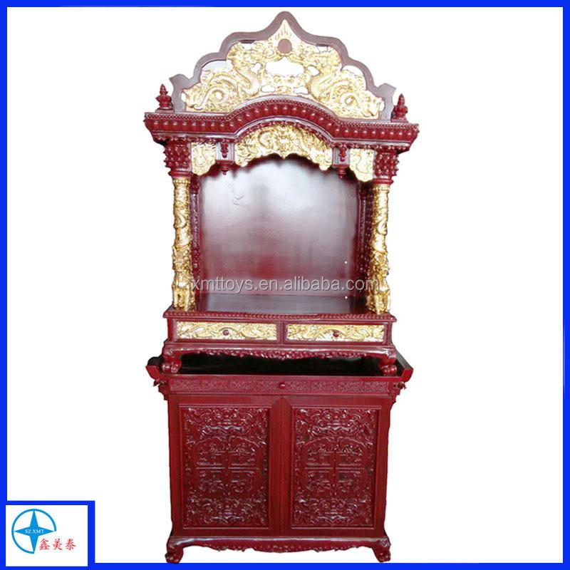 Buddha Wooden Shrine Cabinet - Buy Tibetan Shrine Cabinet,Wooden ...