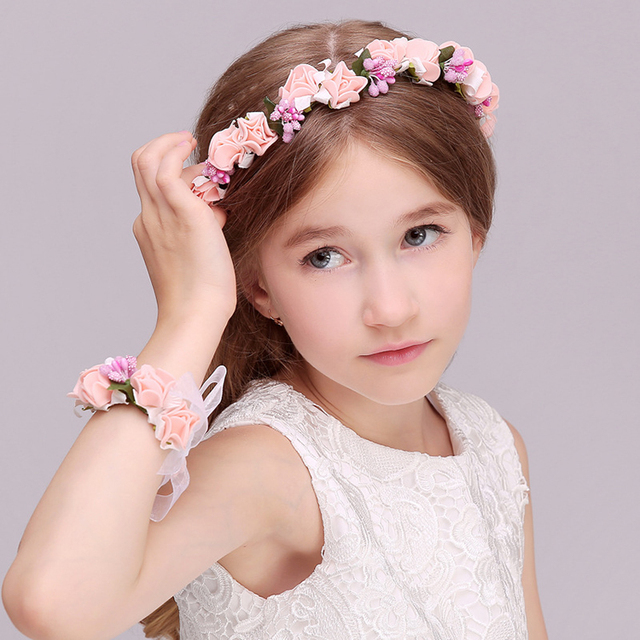 Buy cheap china brand name hair band products find china brand name factory wholesale white flower headband crown flower hair band for girls mightylinksfo