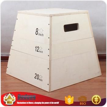 Oem Manufacturers Dynomaster Plyo Box Plyometric Jump Boxes For