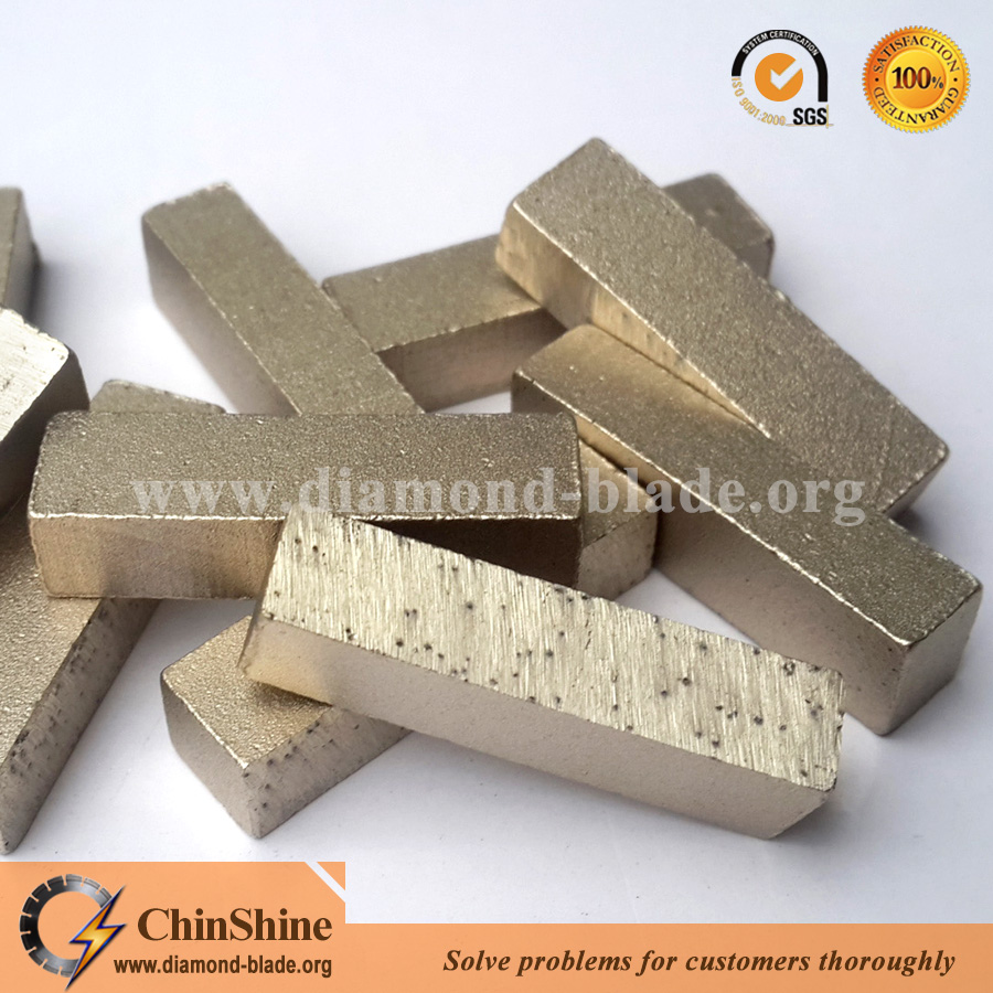 Top quality marble cutting segment for large saw blade or segment diamond