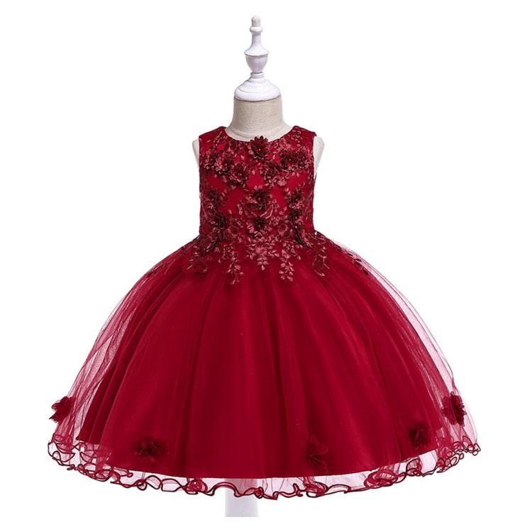Egm127 2019 Nuevo Rojo 4 Año Niña Cumpleaños Vestido De Fiesta Para Niño Niña Buy Vestidos De Fiesta Para Niñavestido De Fiesta De Cumpleaños Para