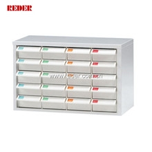 20 drawers small plastic filing cabinet drawer parts storage