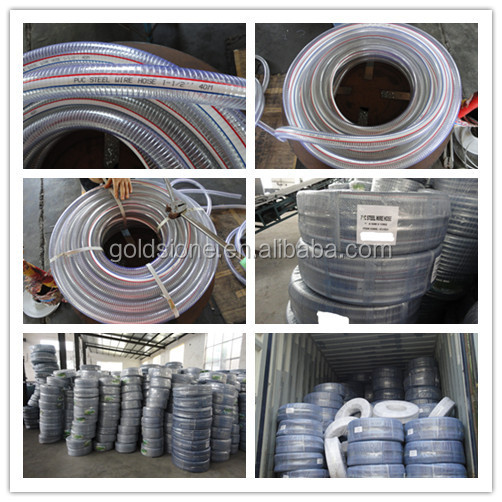 Anti-kink Pvc Steel Wire Reinforced Flexible Pipe - Buy Pvc Spiral ...
