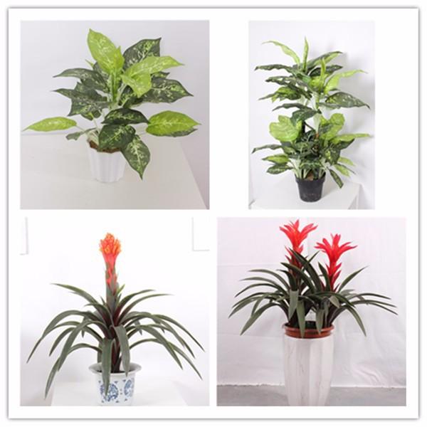 Factory price artificial mini decorative indoor plants for Indoor decorative plants