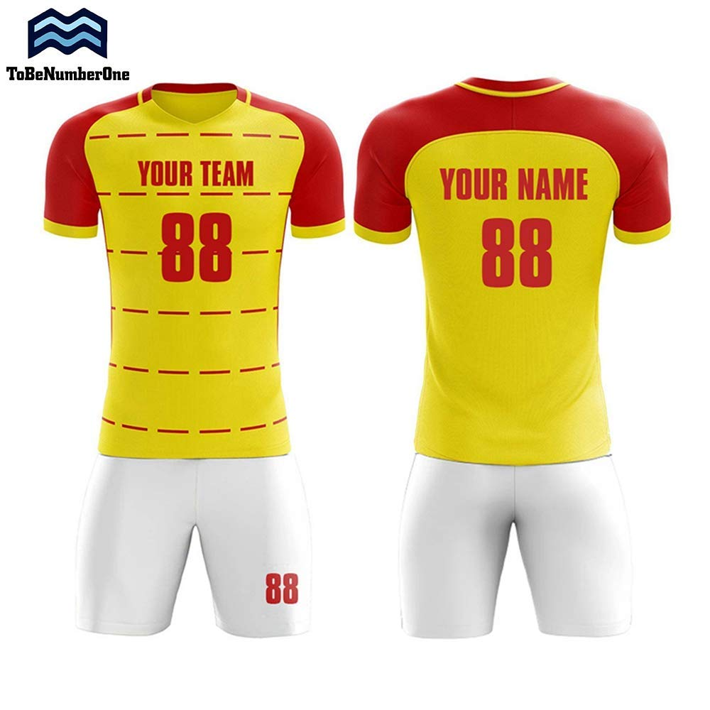 2a5bdb4531c Full Sublimation Soccer Uniform 2018-2019 Togo Home Concept Custom Football  Shirt