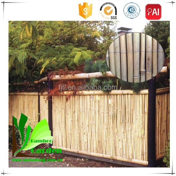 Natuurlijke bamboe riet balkon hek hekwerk trellis en poorten product id 1695497763 dutch - Bamboe hek ...