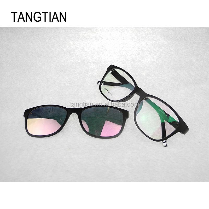 f8fa47a5e أزياء مخصص تصميم نظارات القراءة نظارات إطارات النظارات مع المغناطيس 1606